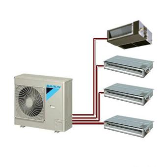 da金中央空调chao级多联3MX系统